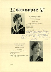 Page 16, 1930 Edition, Emma Willard School - Gargoyle Yearbook (Troy, NY) online yearbook collection