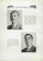 Page 16, 1928 Edition, Hackley School - Annual Yearbook (Tarrytown, NY) online yearbook collection