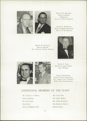 Page 14, 1953 Edition, Hackley School - Annual Yearbook (Tarrytown, NY) online yearbook collection