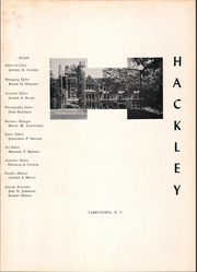 Page 5, 1964 Edition, Hackley School - Annual Yearbook (Tarrytown, NY) online yearbook collection