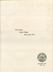 Page 5, 1951 Edition, Ithaca College - Cayugan Yearbook (Ithaca, NY) online yearbook collection