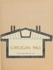 Page 4, 1963 Edition, Ithaca College - Cayugan Yearbook (Ithaca, NY) online yearbook collection