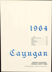 Page 7, 1964 Edition, Ithaca College - Cayugan Yearbook (Ithaca, NY) online yearbook collection
