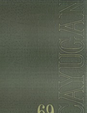 1969 Edition, Ithaca College - Cayugan Yearbook (Ithaca, NY)