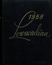 1958 Edition, Lowville Academy and Central School - Lowacadian Yearbook (Lowville, NY)