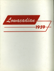 1959 Edition, Lowville Academy and Central School - Lowacadian Yearbook (Lowville, NY)