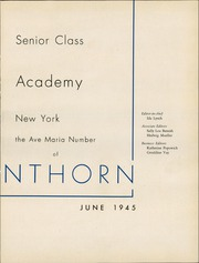 Page 7, 1945 Edition, Nazareth Academy - Lanthorn Yearbook (Rochester, NY) online yearbook collection
