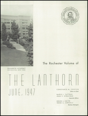Page 7, 1947 Edition, Nazareth Academy - Lanthorn Yearbook (Rochester, NY) online yearbook collection