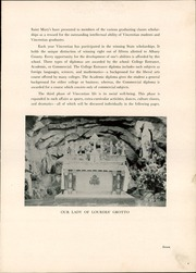 Page 11, 1937 Edition, Vincentian Institute - Crossroads Yearbook (Albany, NY) online yearbook collection
