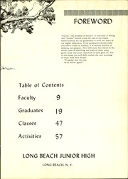 Page 5, 1964 Edition, Long Beach Junior High School - Aurora Yearbook (Long Beach, NY) online yearbook collection