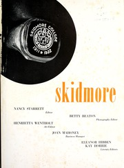 Page 5, 1946 Edition, Skidmore College - Eromdiks Yearbook (Saratoga Springs, NY) online yearbook collection