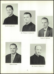 Page 16, 1959 Edition, Fordham Preparatory School - Ramkin Yearbook (Bronx, NY) online yearbook collection