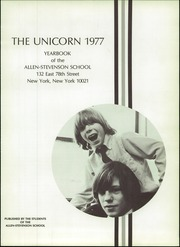 Page 5, 1977 Edition, Allen Stevenson School - Unicorn Yearbook (New York, NY) online yearbook collection