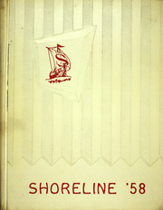 1958 Edition, North Shore Junior High School - Shoreline Yearbook (Glen Head, NY)