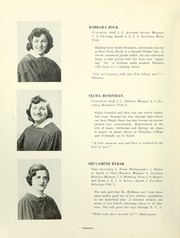 Page 16, 1951 Edition, Yeshiva University High School For Girls - Elchanette Yearbook (Brooklyn, NY) online yearbook collection