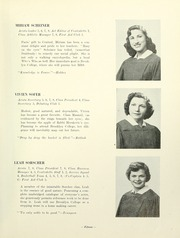 Page 17, 1951 Edition, Yeshiva University High School For Girls - Elchanette Yearbook (Brooklyn, NY) online yearbook collection