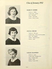 Page 10, 1952 Edition, Yeshiva University High School For Girls - Elchanette Yearbook (Brooklyn, NY) online yearbook collection