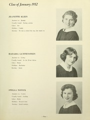 Page 11, 1952 Edition, Yeshiva University High School For Girls - Elchanette Yearbook (Brooklyn, NY) online yearbook collection