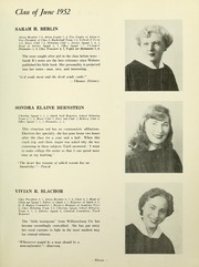 Page 13, 1952 Edition, Yeshiva University High School For Girls - Elchanette Yearbook (Brooklyn, NY) online yearbook collection
