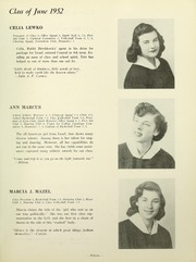 Page 17, 1952 Edition, Yeshiva University High School For Girls - Elchanette Yearbook (Brooklyn, NY) online yearbook collection