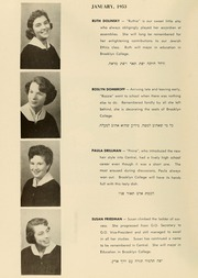 Page 12, 1953 Edition, Yeshiva University High School For Girls - Elchanette Yearbook (Brooklyn, NY) online yearbook collection