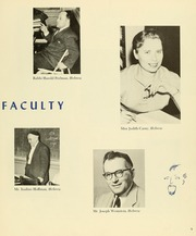 Page 13, 1959 Edition, Yeshiva University High School For Girls - Elchanette Yearbook (Brooklyn, NY) online yearbook collection