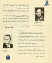 Page 9, 1959 Edition, Yeshiva University High School For Girls - Elchanette Yearbook (Brooklyn, NY) online yearbook collection