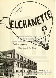 Page 5, 1963 Edition, Yeshiva University High School For Girls - Elchanette Yearbook (Brooklyn, NY) online yearbook collection