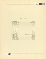 Page 11, 1948 Edition, Yeshiva University High School For Boys - Elchanite Yearbook (Brooklyn, NY) online yearbook collection