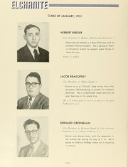 Page 12, 1951 Edition, Yeshiva University High School For Boys - Elchanite Yearbook (Brooklyn, NY) online yearbook collection