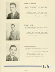 Page 13, 1951 Edition, Yeshiva University High School For Boys - Elchanite Yearbook (Brooklyn, NY) online yearbook collection