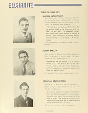Page 16, 1951 Edition, Yeshiva University High School For Boys - Elchanite Yearbook (Brooklyn, NY) online yearbook collection