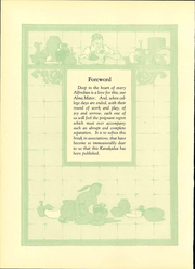 Page 12, 1929 Edition, Alfred University - Kanakadea Yearbook (Alfred, NY) online yearbook collection