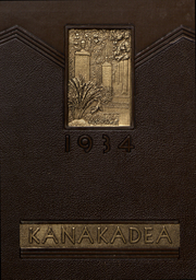 Alfred University - Kanakadea Yearbook (Alfred, NY) online yearbook collection, 1934 Edition, Page 1