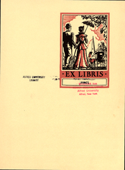 Page 3, 1934 Edition, Alfred University - Kanakadea Yearbook (Alfred, NY) online yearbook collection