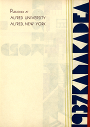 Page 3, 1937 Edition, Alfred University - Kanakadea Yearbook (Alfred, NY) online yearbook collection