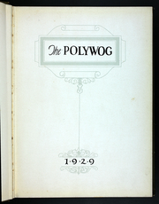 Page 7, 1929 Edition, Polytechnic Institute of Brooklyn - Polywog Yearbook (Brooklyn, NY) online yearbook collection
