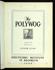 Page 9, 1929 Edition, Polytechnic Institute of Brooklyn - Polywog Yearbook (Brooklyn, NY) online yearbook collection