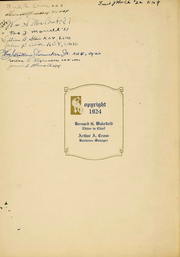 Page 3, 1924 Edition, University at Buffalo - Buffalonian Yearbook (Buffalo, NY) online yearbook collection