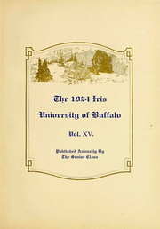 Page 6, 1924 Edition, University at Buffalo - Buffalonian Yearbook (Buffalo, NY) online yearbook collection