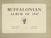 Page 2, 1947 Edition, University at Buffalo - Buffalonian Yearbook (Buffalo, NY) online yearbook collection