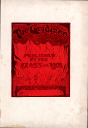 Page 3, 1901 Edition, St Lawrence University - Gridiron Yearbook (Canton, NY) online yearbook collection