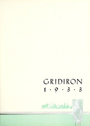 Page 9, 1933 Edition, St Lawrence University - Gridiron Yearbook (Canton, NY) online yearbook collection