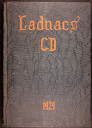 Page 1, 1929 Edition, Drew Seminary - Ladnacs Yearbook (Carmel, NY) online yearbook collection