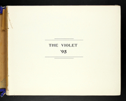 Page 9, 1895 Edition, New York University - Violet Yearbook (New York, NY) online yearbook collection