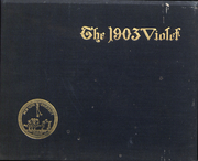 Page 1, 1903 Edition, New York University - Violet Yearbook (New York, NY) online yearbook collection
