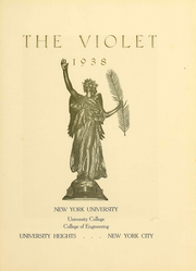 Page 6, 1938 Edition, New York University - Violet Yearbook (New York, NY) online yearbook collection