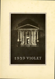 Page 5, 1939 Edition, New York University - Violet Yearbook (New York, NY) online yearbook collection