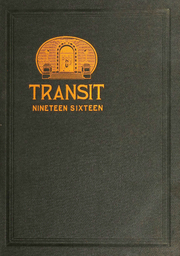 1916 Edition, Rensselaer Polytechnic Institute - Transit Yearbook (Troy, NY)