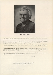 Page 11, 1956 Edition, Practical Bible Training School - Theologue Yearbook (Johnson City, NY) online yearbook collection